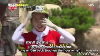 Song Ji Hyo Cut Mud Westling RM Ep 209