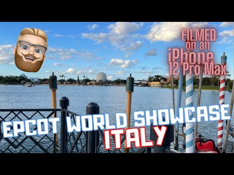 Epcot's World Showcase ITALY Pavilion...BETTER Than REALITY?