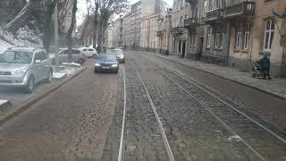 Vlog! Залі нового трамвая Львова 3-го маршрута