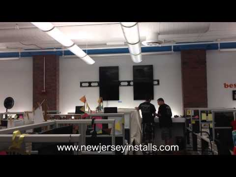 Professional Television Installation in New Jersey | Time Lapse