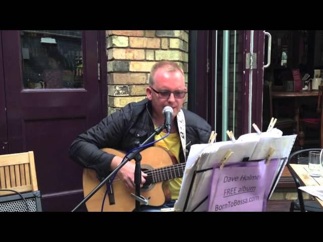 Dave Holmes performing Brazilian Bossa Nova classic 'Vou Te Contar (Wave)'