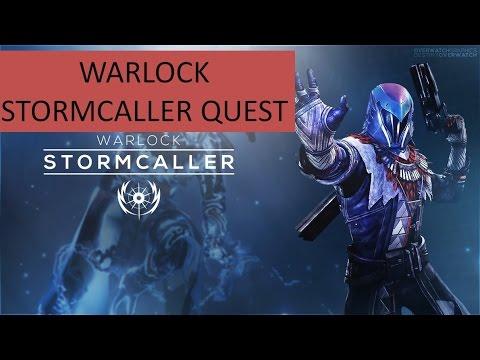 Warlock stormcaller quest with rewards destiny the taken king youtube - Warlock stormcaller ...