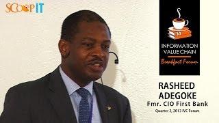 Rasheed Adegoke: Our ISO 20000 Certification Journey
