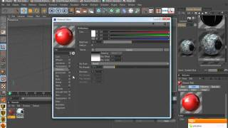 CINEMA 4D - SAVE YOUR OWN MATERIALS - TUTORIAL