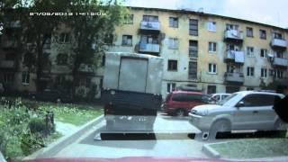 УАЗ с подруливающими задними колесами