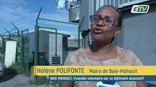 Incendies volontaires à Baie-Mahault: Hélène Polifonte, maire de la commune, répond!