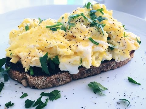 Easy and Healthy Scrambled Eggs Recipe Indulgent Fuel