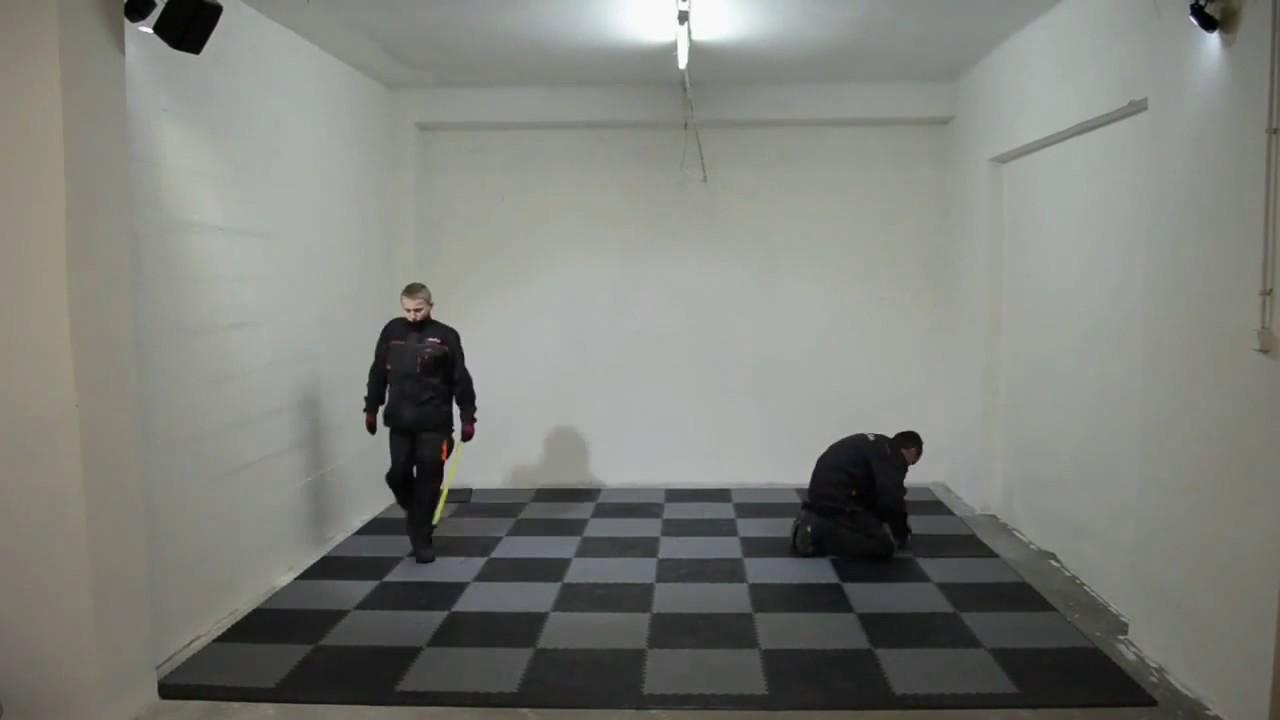 pvc garagenboden ihre rekonstruktion youtube. Black Bedroom Furniture Sets. Home Design Ideas