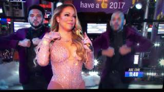 Mariah Carey Performance Dick Clark's New Year's Eve 2017