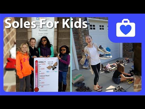 Passionate About Helping Others, 11-Year-Old Donates Shoes To Kids In Need