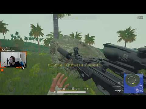 just9n | PUBG 1-MAN SQUAD | 18 Kills | QBZ + M24 | August 11