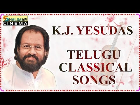 K.J.Yesudas Telugu Classical Hit Songs || Best Collection Video Jukebox
