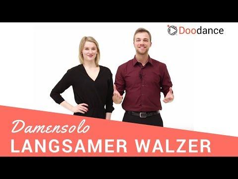 Hochzeitstanz: Langsamer Walzer | Das Damensolo