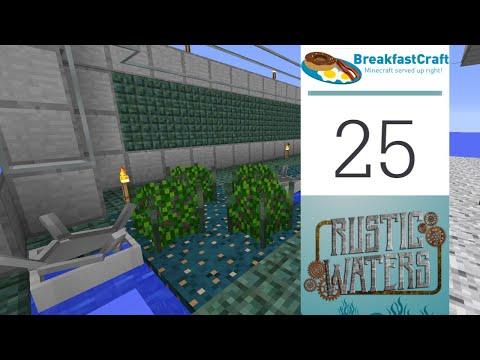 25 | Rustic Waters - Beginning Agricraft | 1.12.2 Modded Minecraft | Breakfastcraft