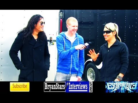 Escape The Fate Interview #2 Robert Ortiz & Bryan Money UNCUT 2012