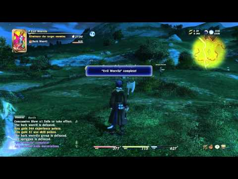 Ffxiv Beta Gameplay And Levequests Hd Youtube