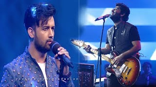 O Saathi Song -  Atif Aslam Vs Arijit Singh Live Singing 2018