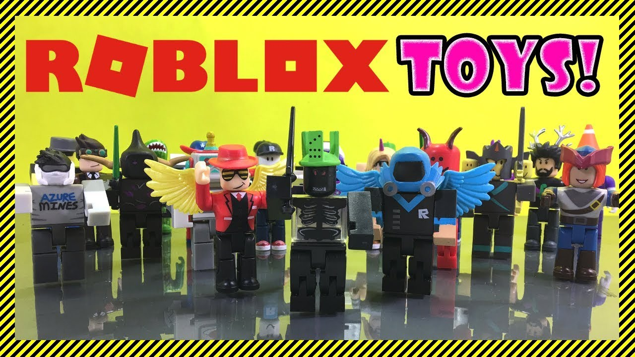Roblox Toys Series 2 All Blind Box Toys A Look At All