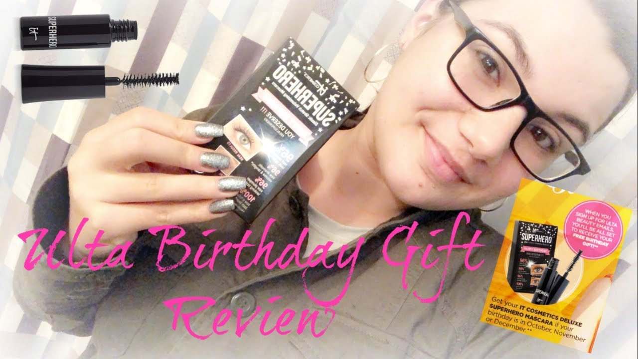 Ulta Birthday Gift Review | It Cosmetics Superhero Mascara 🖤