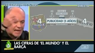 Alfredo Duro renuncia a su medicación y la enajenación mental hace acto de presencia( Curitiba)