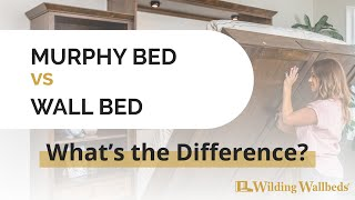 What is the Difference Between a Murphy Bed and a Wall Bed? - Wilding Wallbeds