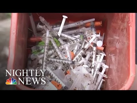 Librarians On Front Lines Of Philadelphia's Heroin Epidemic | NBC Nightly News