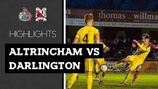 Altrincham 3-3 Darlington - Vanarama National League North - 2018/19