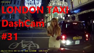 Pre-Christmas Dash Cam Video | London Taxi Daily Observations ( 31) | Dashcam by TaxiWarrior