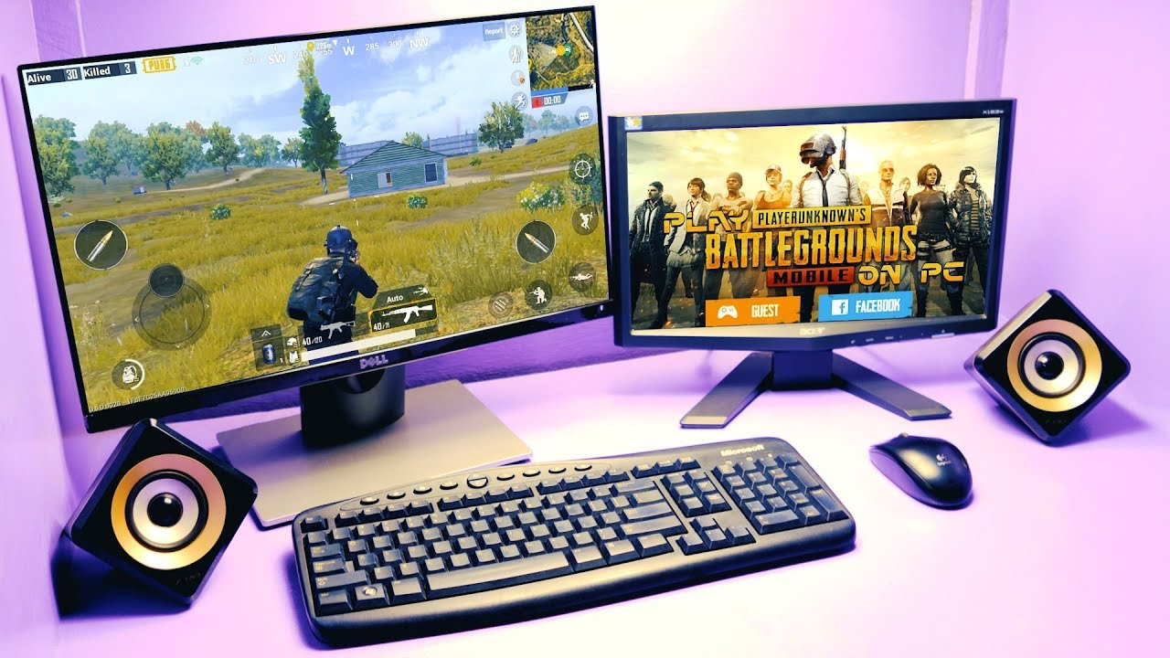 How to Download,Install & Play PUBG Mobile on your PC/Mac with Keyboard &  Mouse(Windows 7,8,8 1&10)