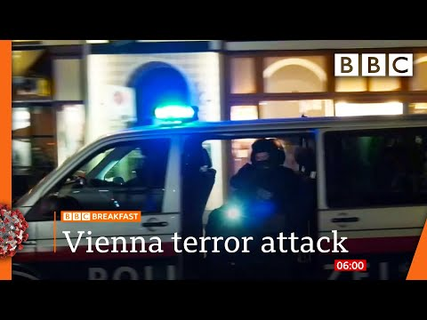Vienna shooting: Austria launches manhunt after deadly 'terror' attack 🔴 @BBC News live - BBC