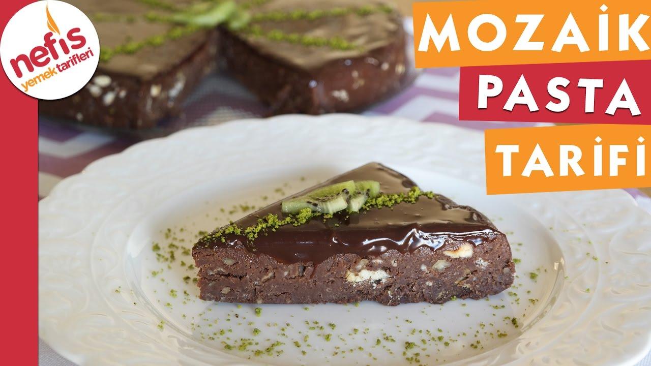 Mozaik Pasta Nasıl Yapılır Videosu