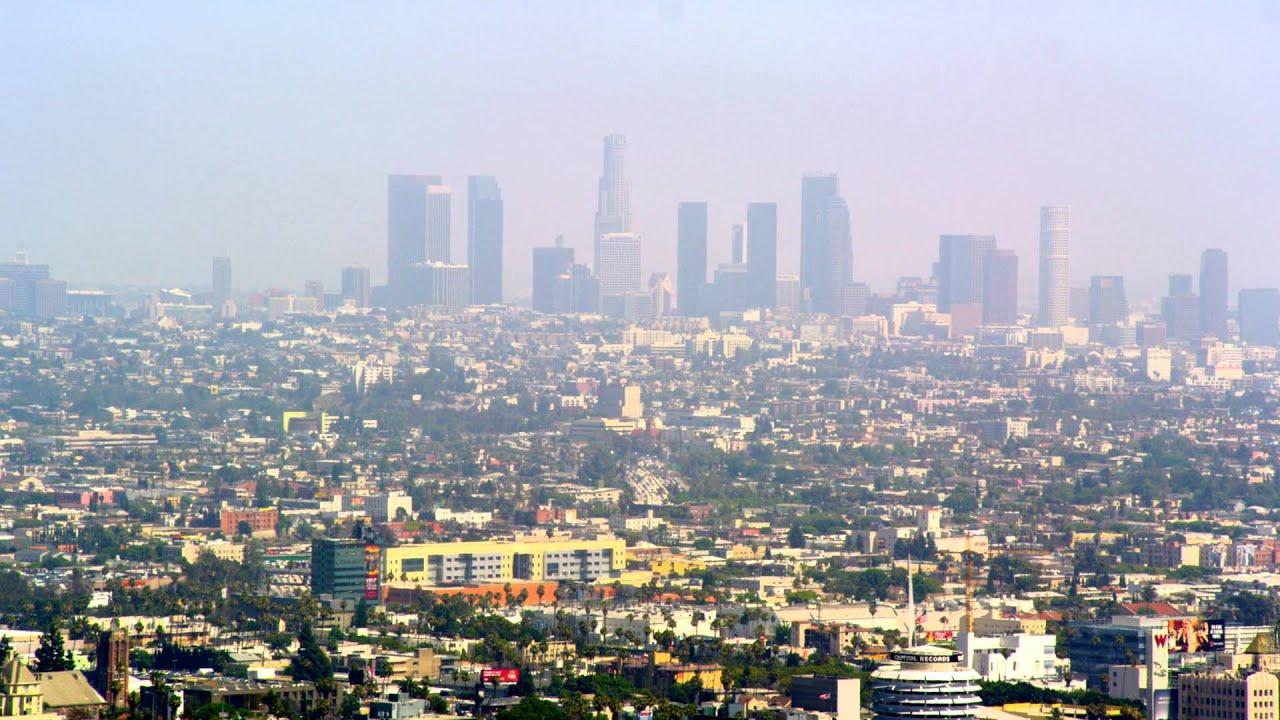 los angeles skyline view - photo #16