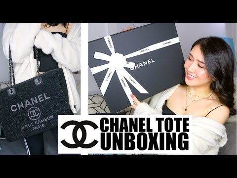 CHANEL UNBOXING | Chanel Deauville Tote