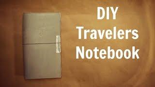 DIY Travelers Notebook