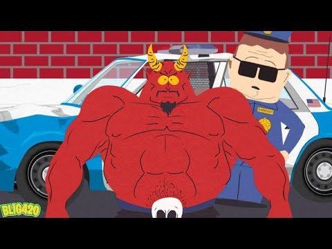 South Park Phone Destroyer OFFICER SATAN