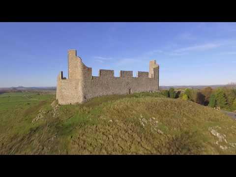 Drone Video of Hume Castle, Scottish Borders