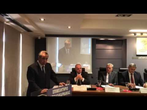 O Κωνσταντίνος Μίχαλος από το Αγρίνιο: Η Ελλάδα να υλοποιήσει ένα εθνικό σχέδιο ανάπτυξης