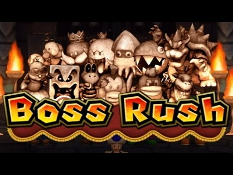 Mario Party 9 – Boss Rush