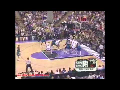 Chris Webber 28 Pts , 8 Reb Full Highlight vs Minnesota Timberwolves 2004 Playoff WCSFs Game 4