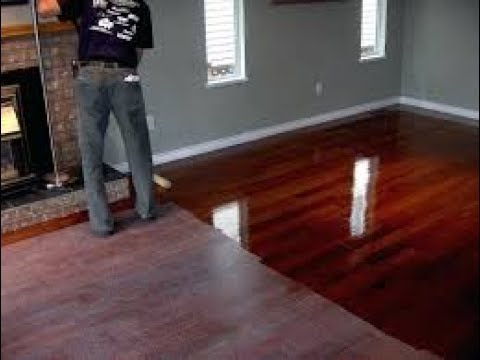 How To Fill Gaps And Cracks In Hardwood Floors Youtube
