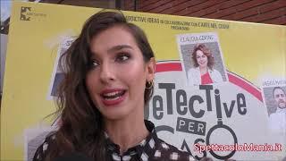 Videointervista a Stella Egitto in Detective per caso, su SpettacoloMania.it