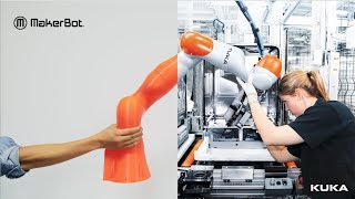 MakerBot | KUKA Robotic Arms