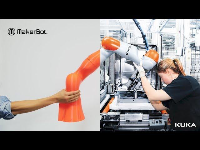 MakerBot | KUKA Robotic Arms