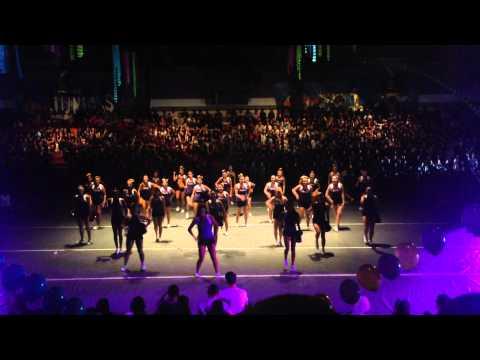 Diamond bar cheer & song 2014-2015 first day rally