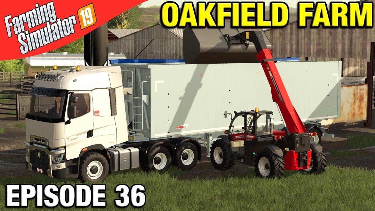 CARTING MANURE Farming Simulator 19 Timelapse - Oakfield Farm Seasons FS19  Episode 36