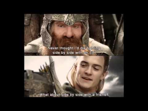 Legolas,Aragorn and Gimli- Theme Song.