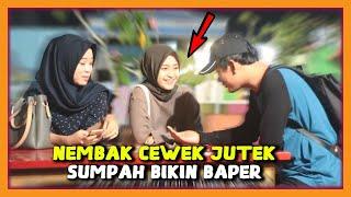 Gila !!! PRANK NEMBAK WANITA CANTIK SUPER JUTEK GAK DIKENAL - Prank Indonesia MP3