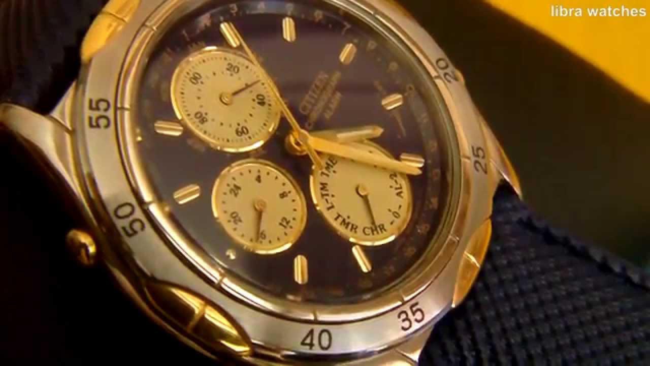 8e5ffb80f CITIZEN CHRONOGRAPH ALARM by libra watches
