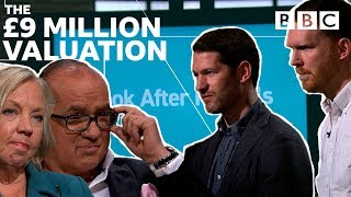 Dragons tackle a staggering valuation - Dragons' Den