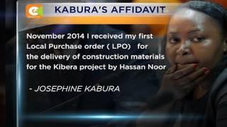 Kabura claims former CS Waiguru masterminded NYS scandal